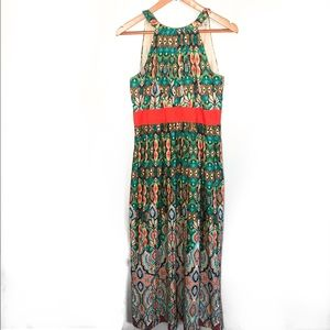 Eliza J colorful halter dress